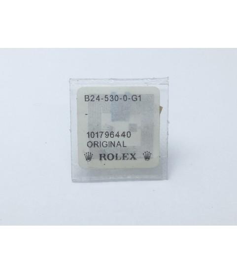 Rolex Watch Genuine Stainless steel crown part ref. B24-530-0-G1