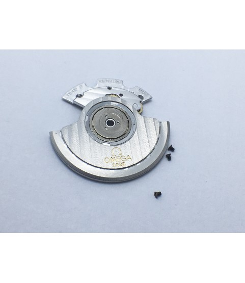 Omega caliber 3220 automatic device framework and oscillating weight part