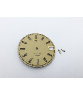 Movado Kingmatic HS 360 caliber 408 watch dial with date 29.5 mm