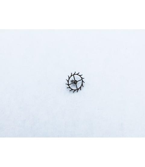 Zenith caliber 1110 escape wheel and pinion with straight pivots part 705
