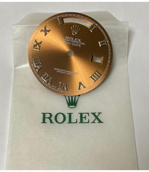 New Rolex Day Date Havana dial 118239, 18039, 18109 and 18239
