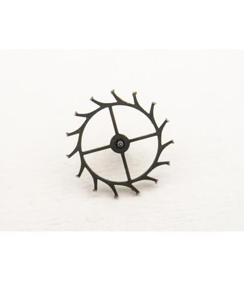 Eberhard & Co caliber 16000 (Valjoux 65) escape wheel and pinion with straight pivots part 705
