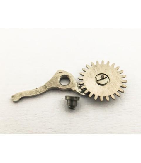 Eberhard & Co caliber 16000 (Valjoux 65) sliding gear, mounted part 8120