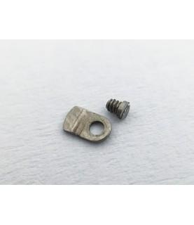 Omega caliber 601 countersunk flat head screw, flat end part