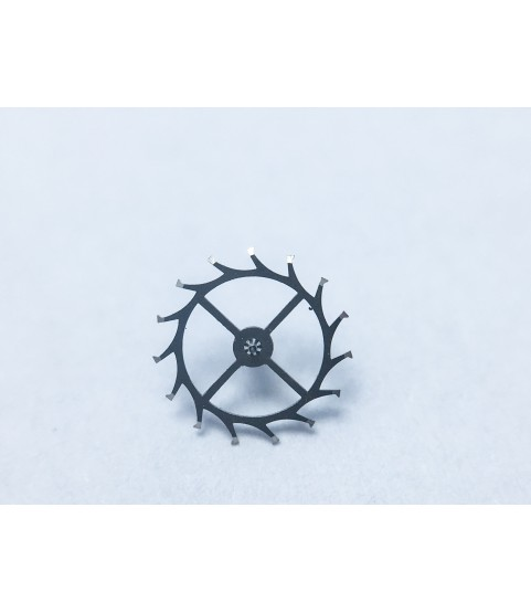 Omega 503 escape wheel and pinion with straight pivots part 1305