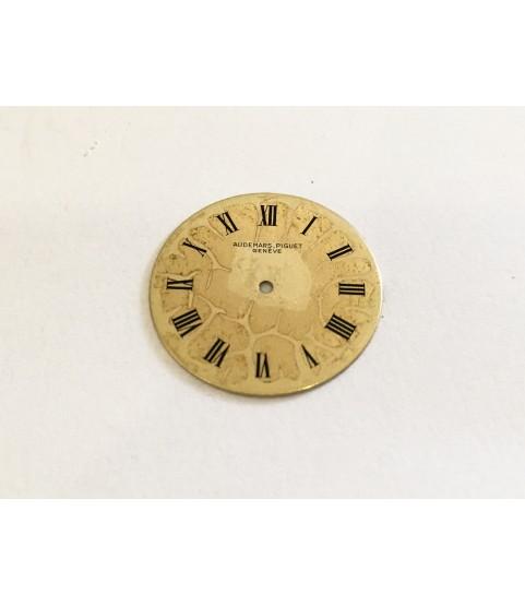 Audemars Piguet Geneve caliber 2003 14k yellow gold watch dial part 21.0 mm