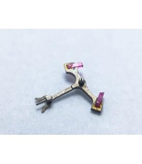Landeron 39 jewelled pallet fork and staff anker part 144