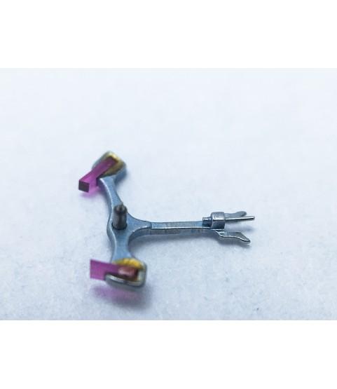 Landeron 149 jewelled pallet fork and staff anker part 710