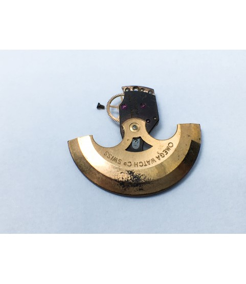 Omega 550 oscillating weight and train wheel bridge part