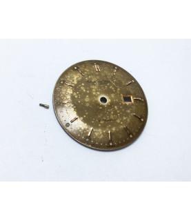 IWC Schaffhausen Chocolate dial caliber 8521 watch dial 29.9 mm