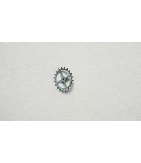 Girard-Perregaux 3080 escape wheel and pinion with straight pivots part 705