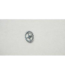 Girard-Perregaux 3080 escape wheel and pinion with straight pivots part 705