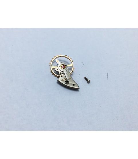 IWC caliber 8521 balance wheel with bridge part