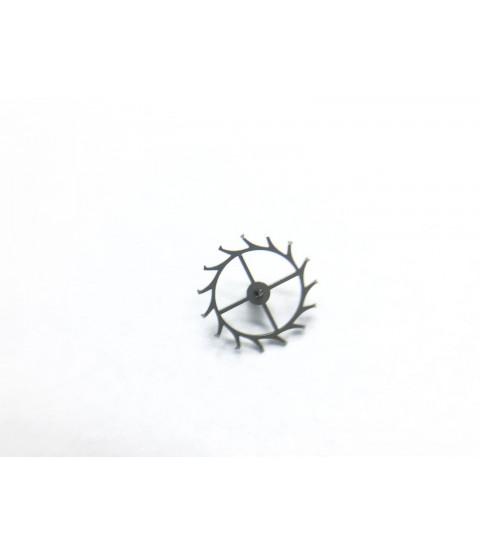 Hamilton (Buren) 1321 escape wheel and pinion with straight pivots part 59
