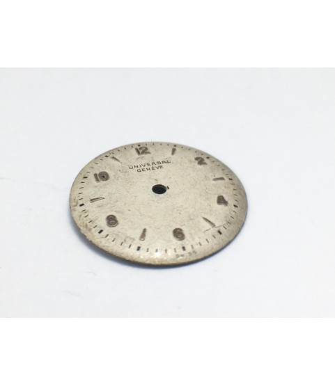 Universal Geneve 245 watch dial 18 mm part