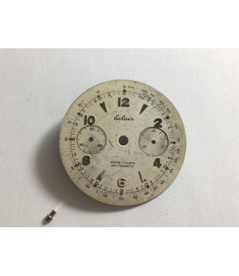 Landeron 50 Eclair watch dial 31.5 mm part