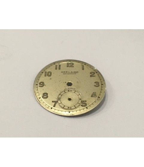 AS 1123 watch dial 25.9 mm part