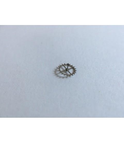 Cartier 2670 (ETA) escape wheel and pinion with straight pivots part 705