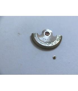 Cartier 2670 (ETA) oscillating weight, assembled part 1143/1