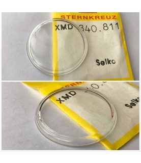 New crystal dome glass for Seiko XMD 340.811 340W14GN