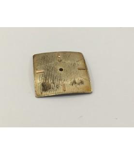 Zenith 2522 watch dial 26 mm part
