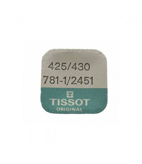 Tissot 781-1 click part 425 with screw and spring 430