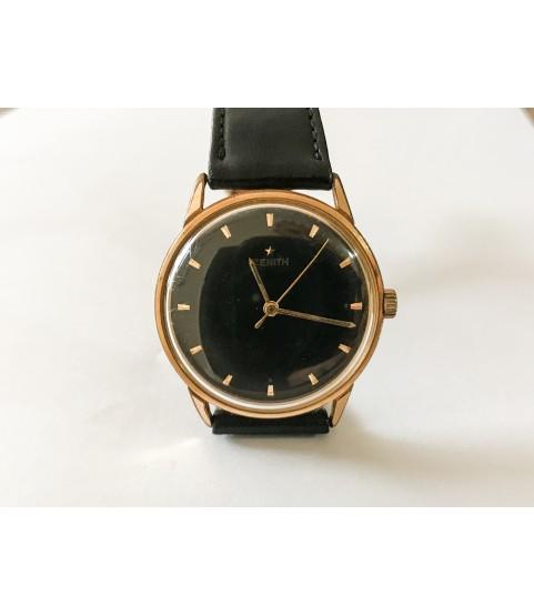 Vintage Zenith men's manual-winding watch 34mm