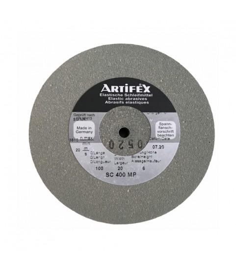 Artifex elastic abrasive grinding wheel silicon carbide for Rolex SC 400 MP