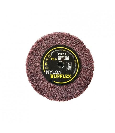Bufflex Flap Wheel for fine Grinding disc 180 fine 100 x 25 mm