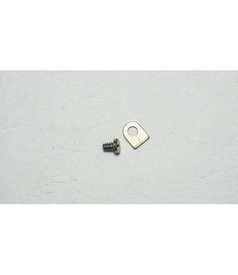 Longines 284 countersunk flat head screw, flat end part 166