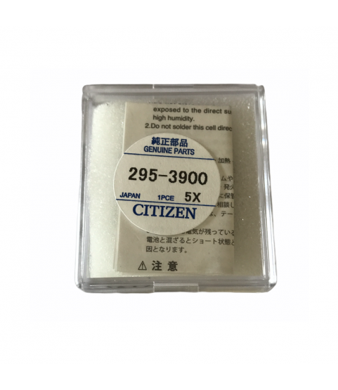 New Citizen Eco-Drive 295-39 (295-3900) capacitor battery for Eco-Drive watches