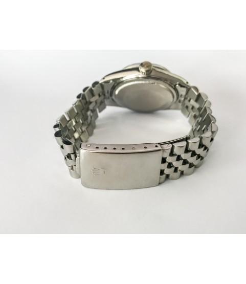 Rolex Datejust 16014 Automatic Men's Watch 18K white gold bezel
