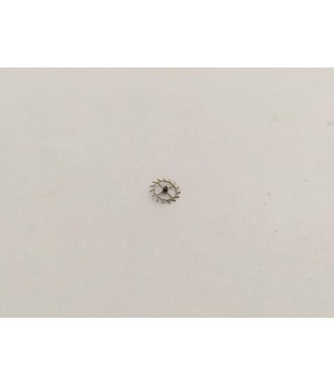 Venus 170 escape wheel and pinion with straight pivots part 705