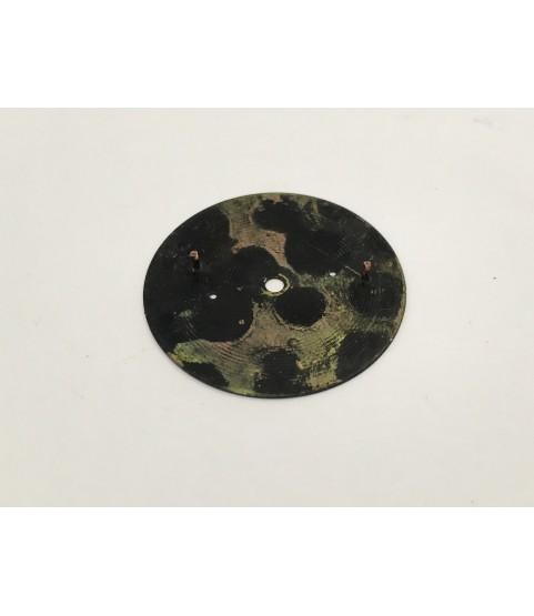 Venus 170 Military Black Chronographe Suisse dial 35 mm