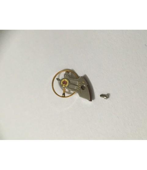 Rolex 1600, 1601 balance wheel with bridge part 1825, 1828