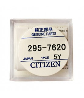 Citizen 295-762 (295-7620) CTL621F capacitor battery for Eco-Drive watches