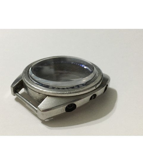 Seiko 6139b stainless steel case for chronograph wach