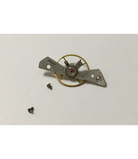 Seiko 6139b balance wheel with bridge part 171522
