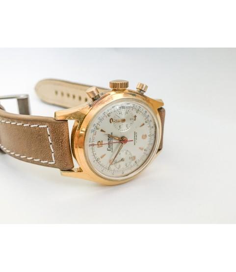 Vintage Exactus Chronograph men's watch Landeron 48 37mm