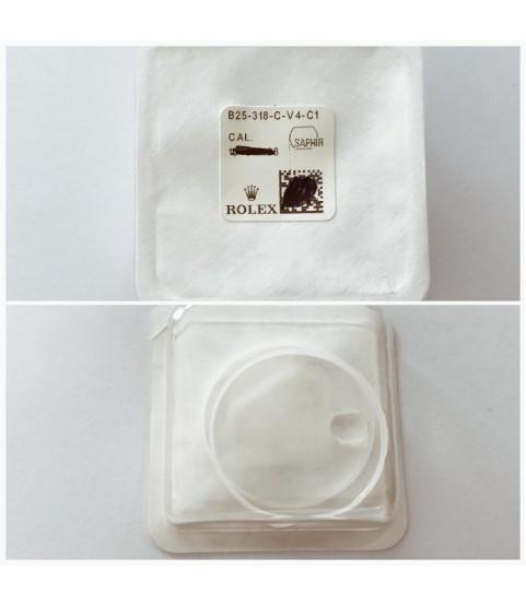 New Rolex sapphire crystal glass B25-318-C-V4-C1 126301, 126303, 228235, 228238