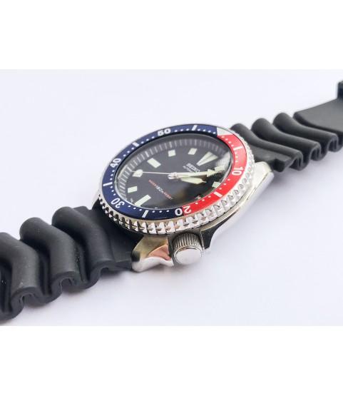 Vintage Automatic Seiko Diver Scuba Pepsi 7002 7000 men's watch