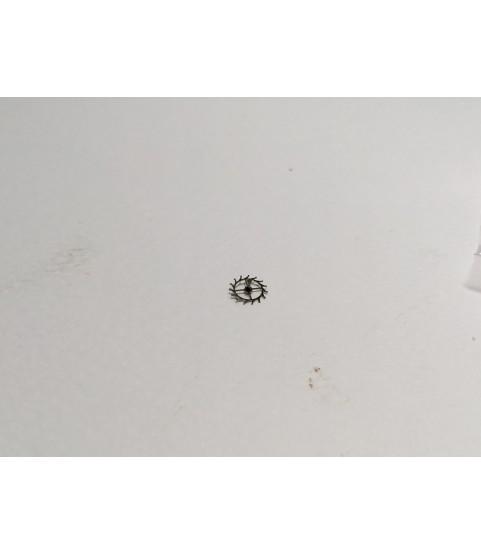 Bulova 11 AOACB escape wheel and pinion with straight pivots part 59