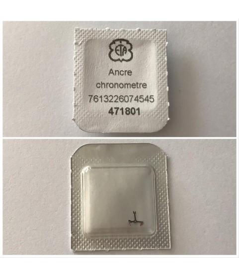 ETA 7750, 7751, 7753, 7754, 7760, 7765, Omega 1151, AS 5001 pallet fork part 710