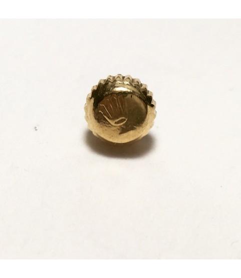 Rolex 2030, 2035 gold crown part