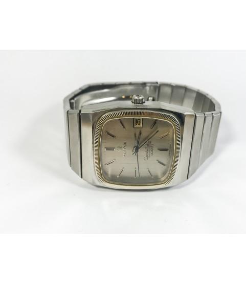 Omega Constellation Quartz men's watch 198.0113 1980s