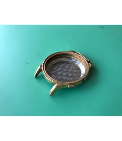 Vintage gold plated case for Landeron 48