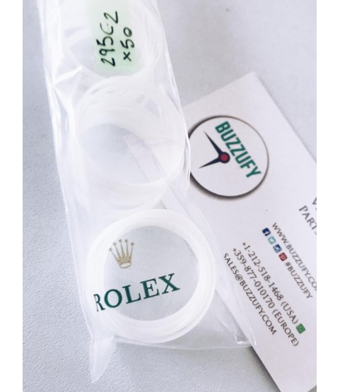 Rolex o-ring crystal glass teflon 29-295C, 295-2 for 114060, 116600, 116610LN, 116610LV