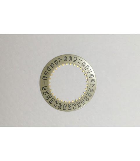 Rolex Submariner 3035 champagne/yellow calendar date disc part