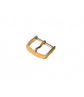 14k solid gold watch buckle band/strap 14mm Rolex, Omega, Jaeger, IWC, Cartier