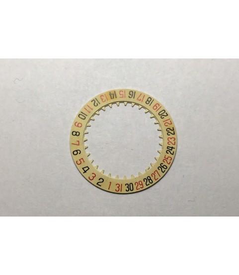 Valjoux 7734 date ring disc indicator part
